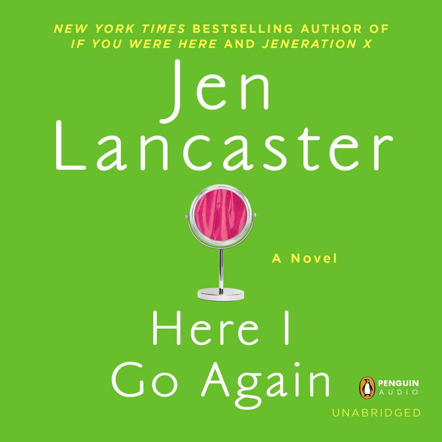 Printable Here I Go Again: A Novel Audiobook Cover Art