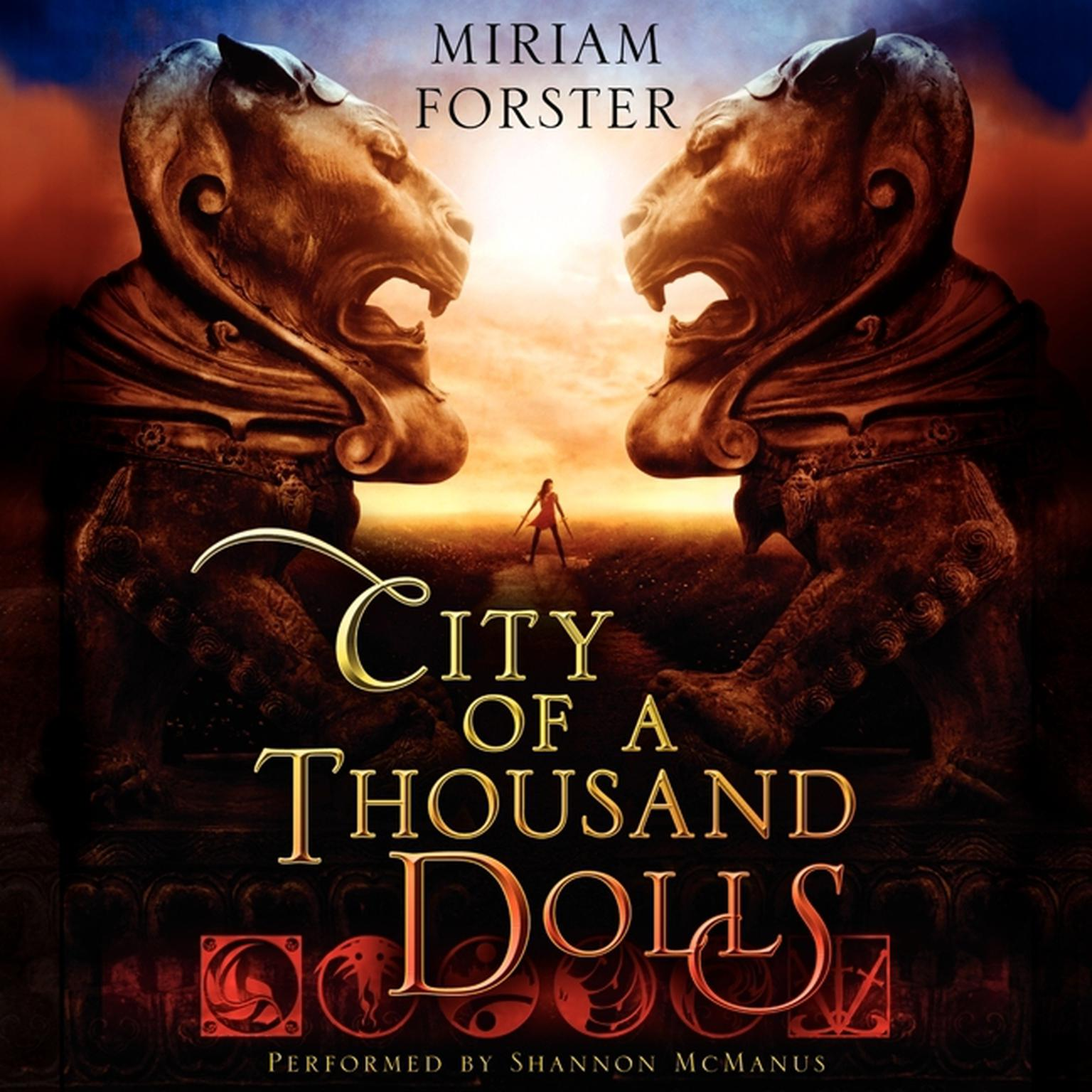 Printable City of a Thousand Dolls Audiobook Cover Art