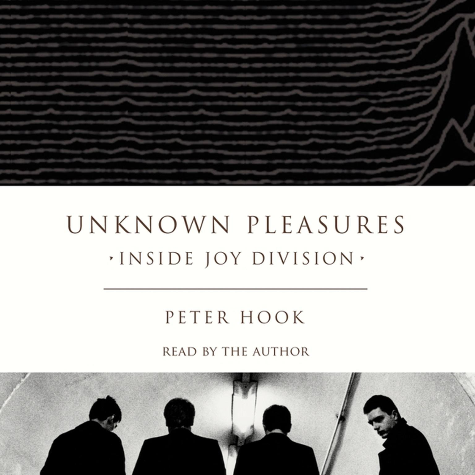 Printable Unknown Pleasures: Inside Joy Division Audiobook Cover Art