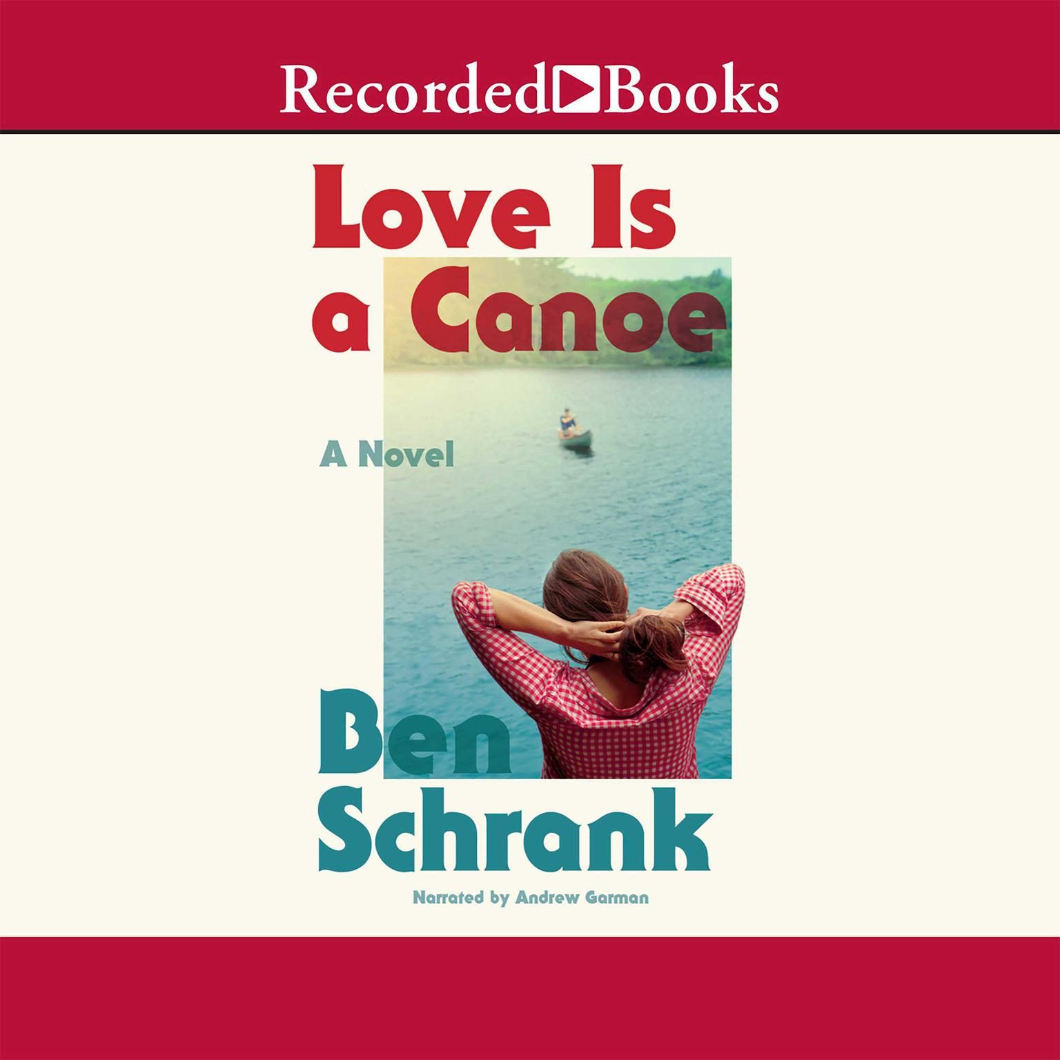 Printable Love Is a Canoe Audiobook Cover Art