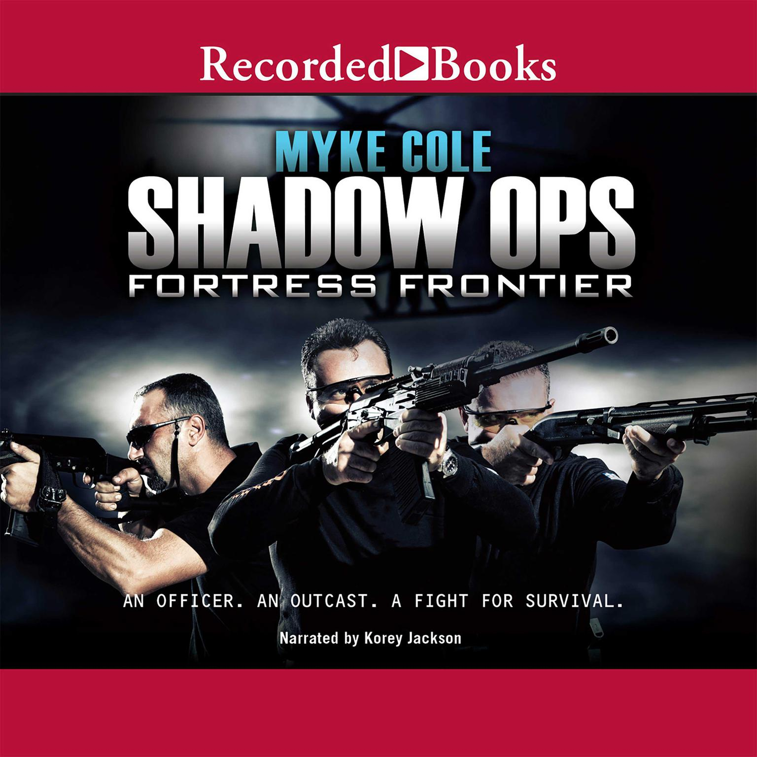 Printable Fortress Frontier Audiobook Cover Art