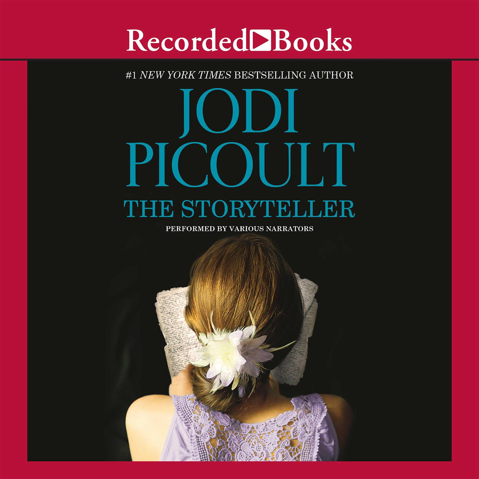 Printable The Storyteller Audiobook Cover Art
