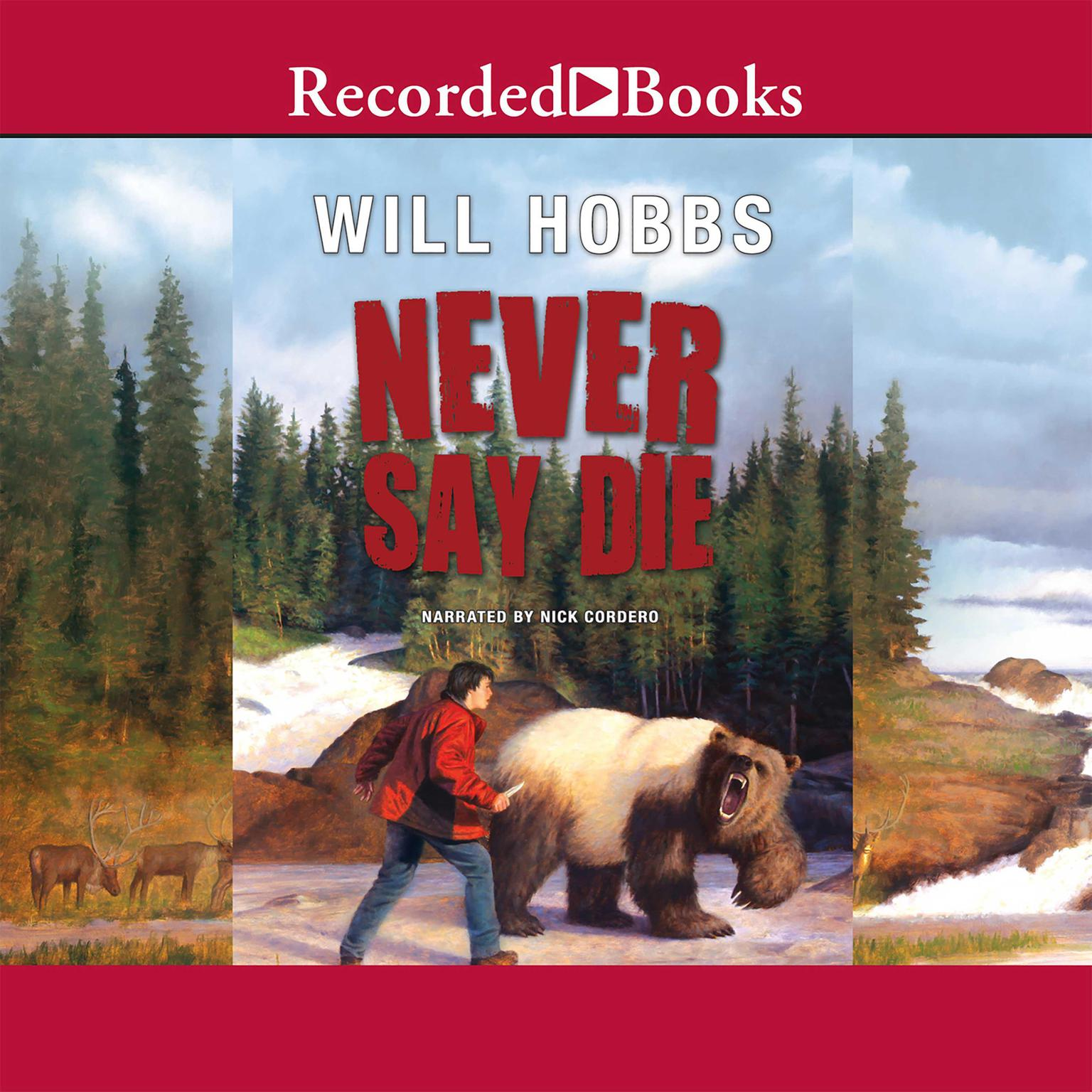 Printable Never Say Die Audiobook Cover Art