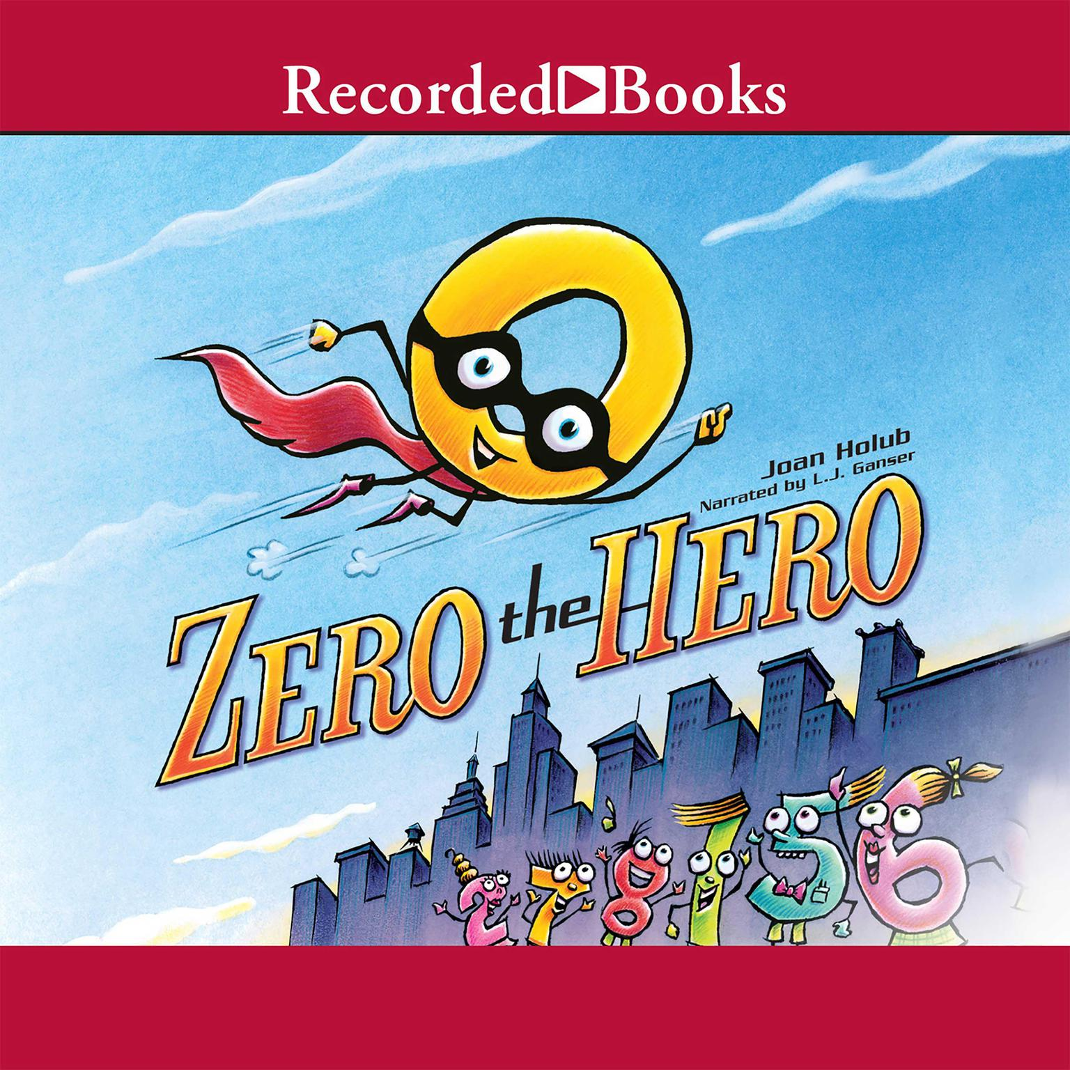 Printable Zero the Hero Audiobook Cover Art