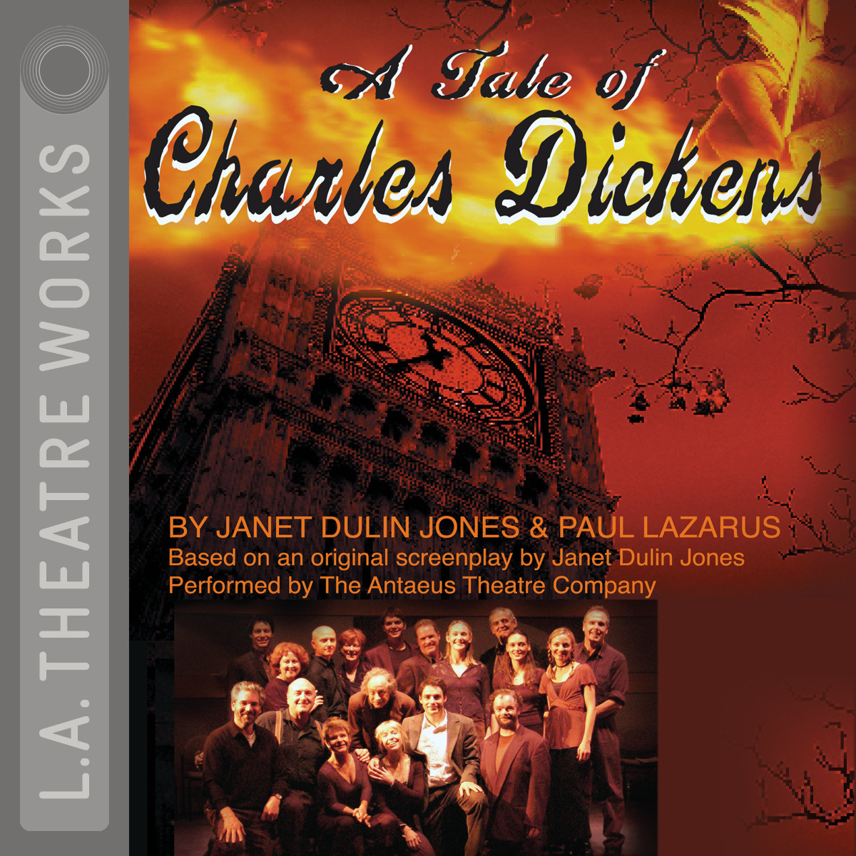 Printable A Tale of Charles Dickens Audiobook Cover Art