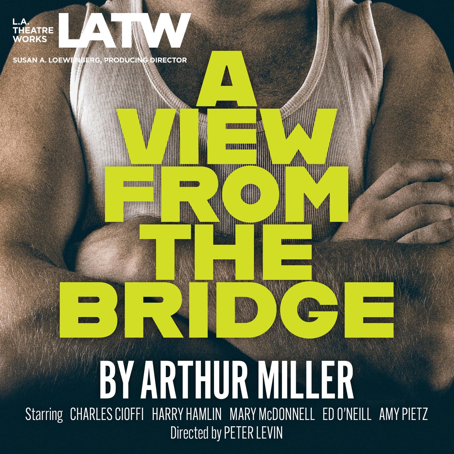 Printable A View from the Bridge Audiobook Cover Art