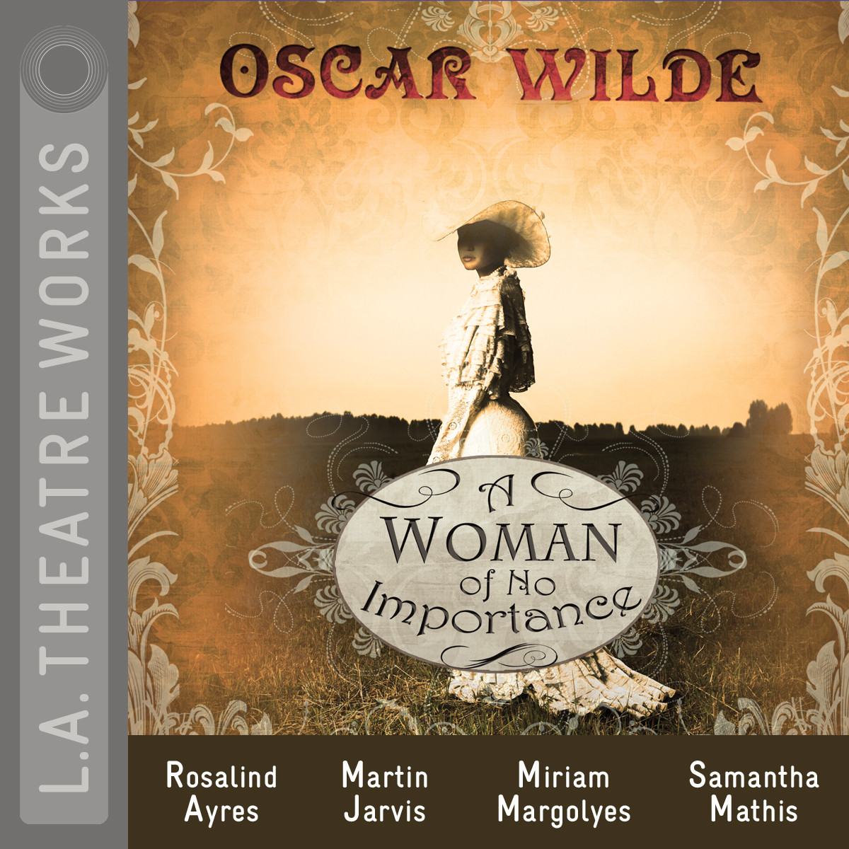 Printable A Woman of No Importance Audiobook Cover Art