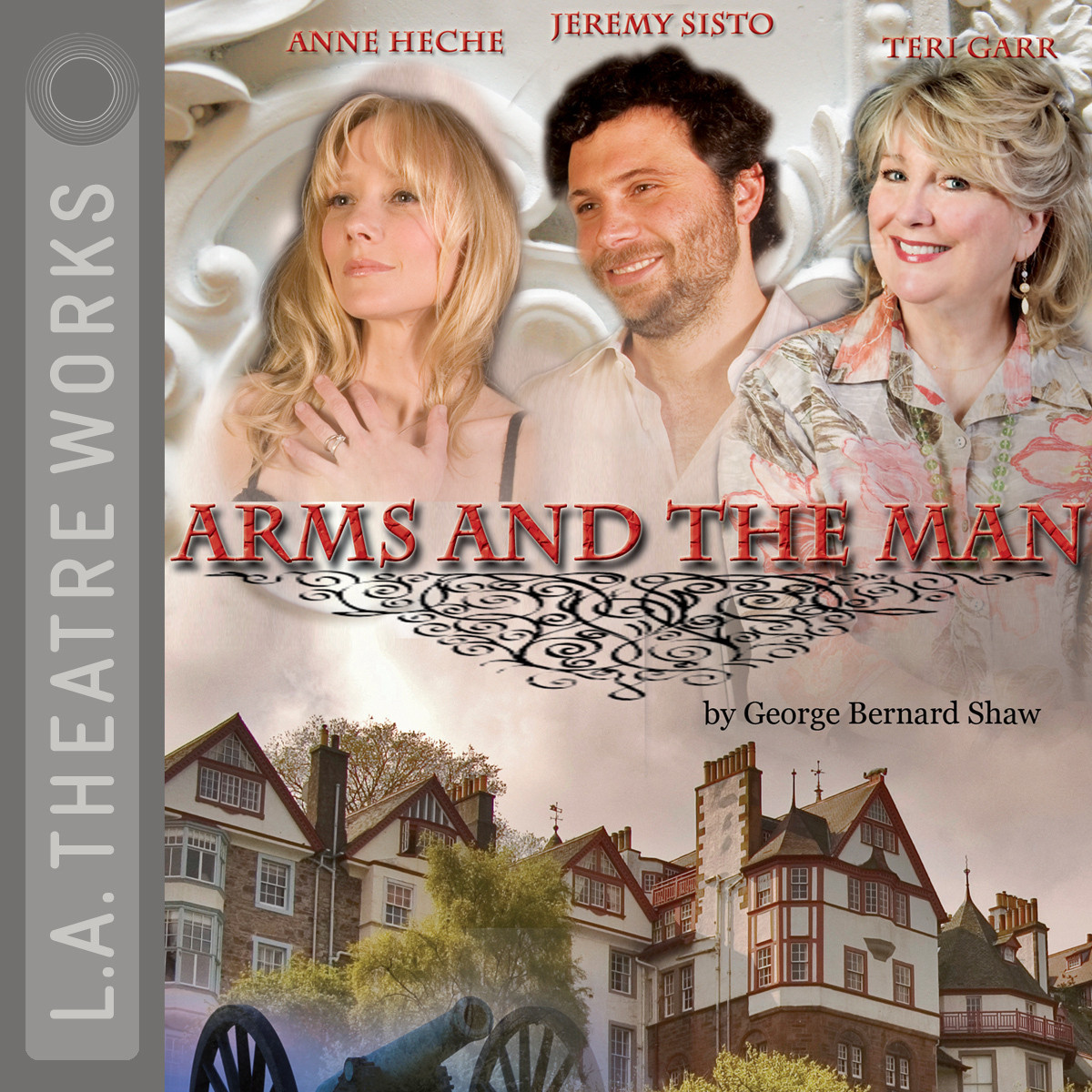Printable Arms and the Man Audiobook Cover Art