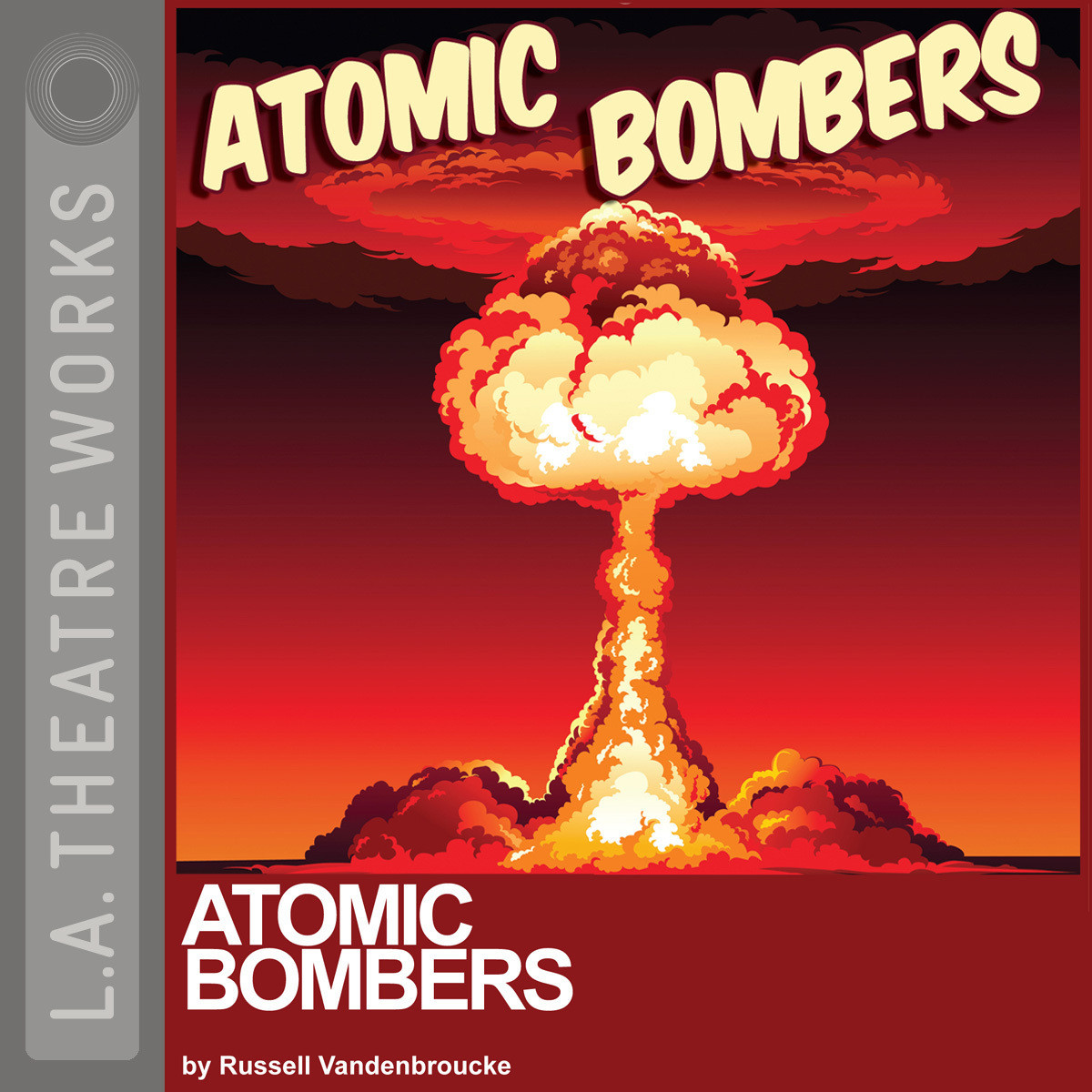 Printable Atomic Bombers Audiobook Cover Art
