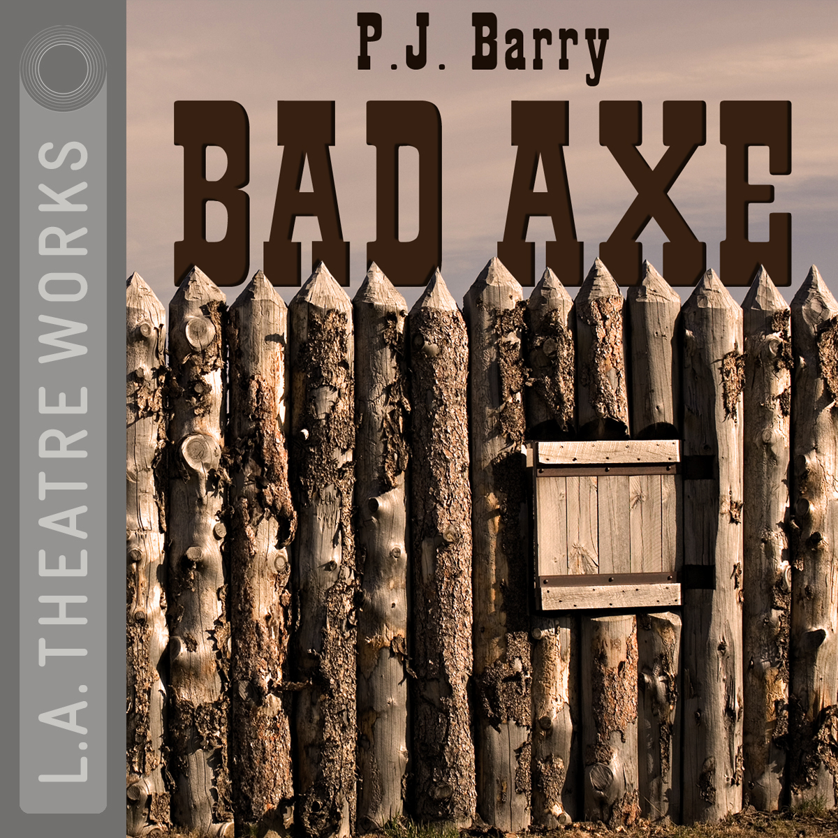 Printable Bad Axe Audiobook Cover Art