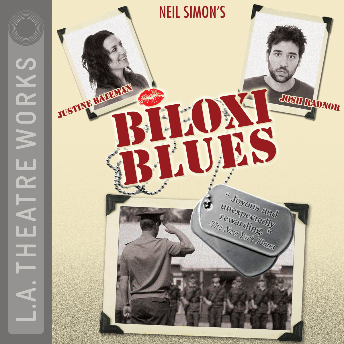 Printable Biloxi Blues Audiobook Cover Art