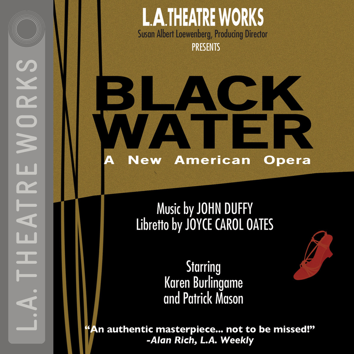 Printable Black Water: An American Opera Audiobook Cover Art