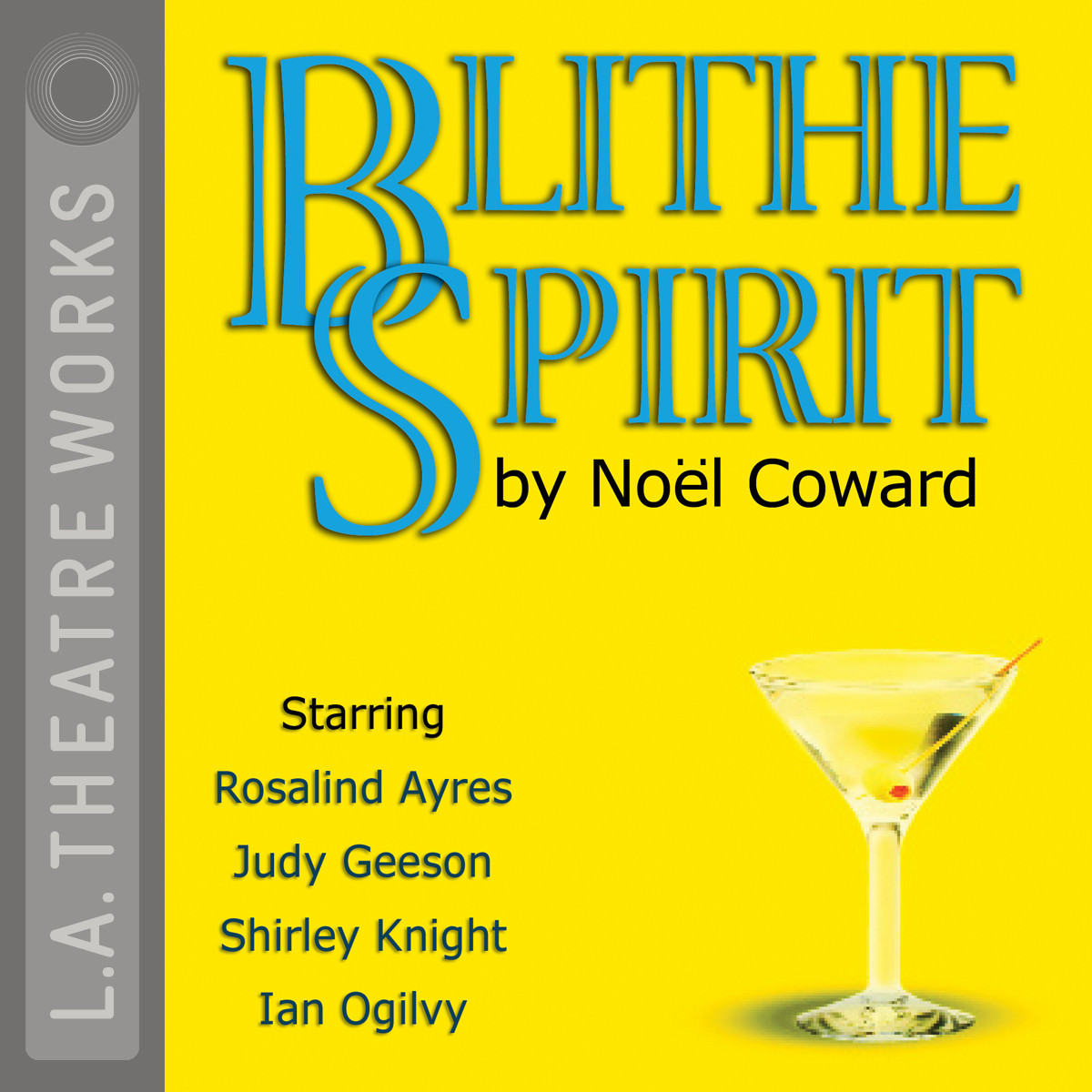 Printable Blithe Spirit Audiobook Cover Art