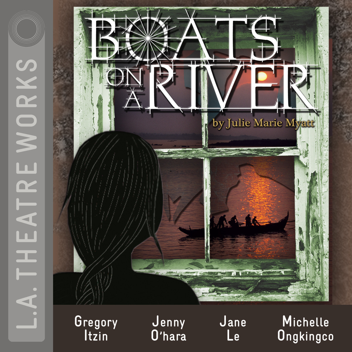 Printable Boats on a River Audiobook Cover Art