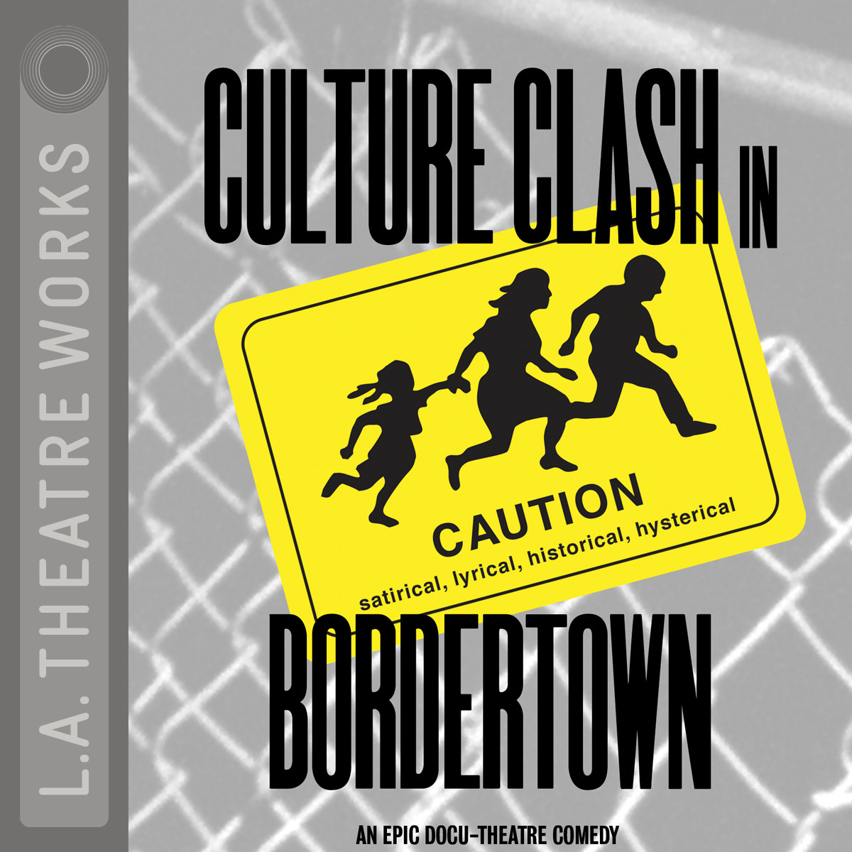 Printable Bordertown Audiobook Cover Art