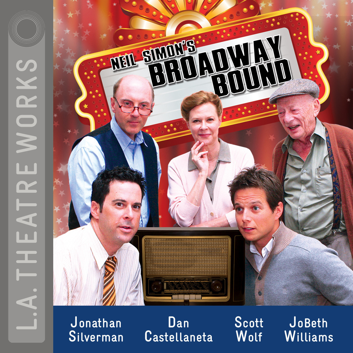 Printable Broadway Bound Audiobook Cover Art
