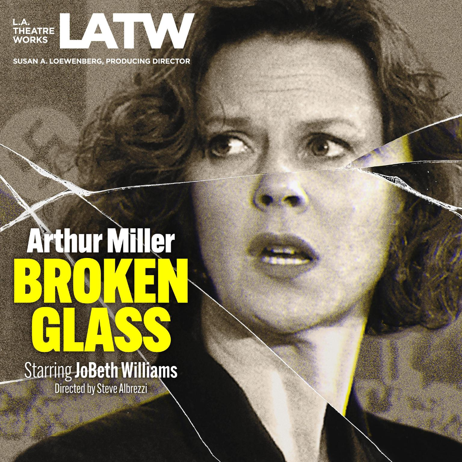 Printable Broken Glass Audiobook Cover Art