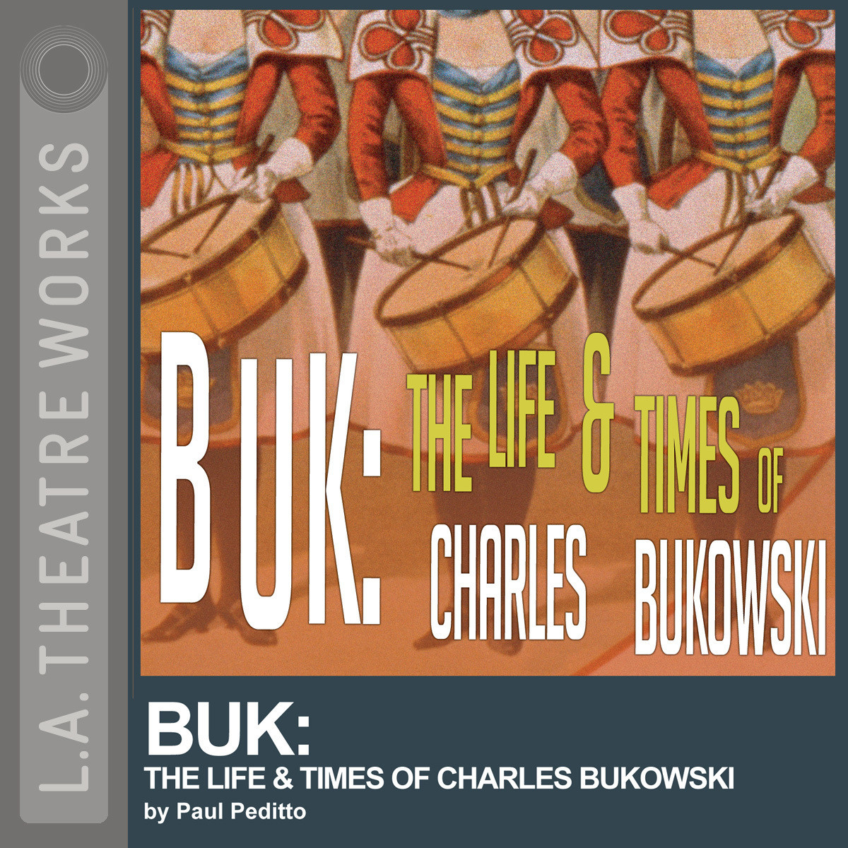 Printable Buk: The Life and Times of Charles Bukowski Audiobook Cover Art