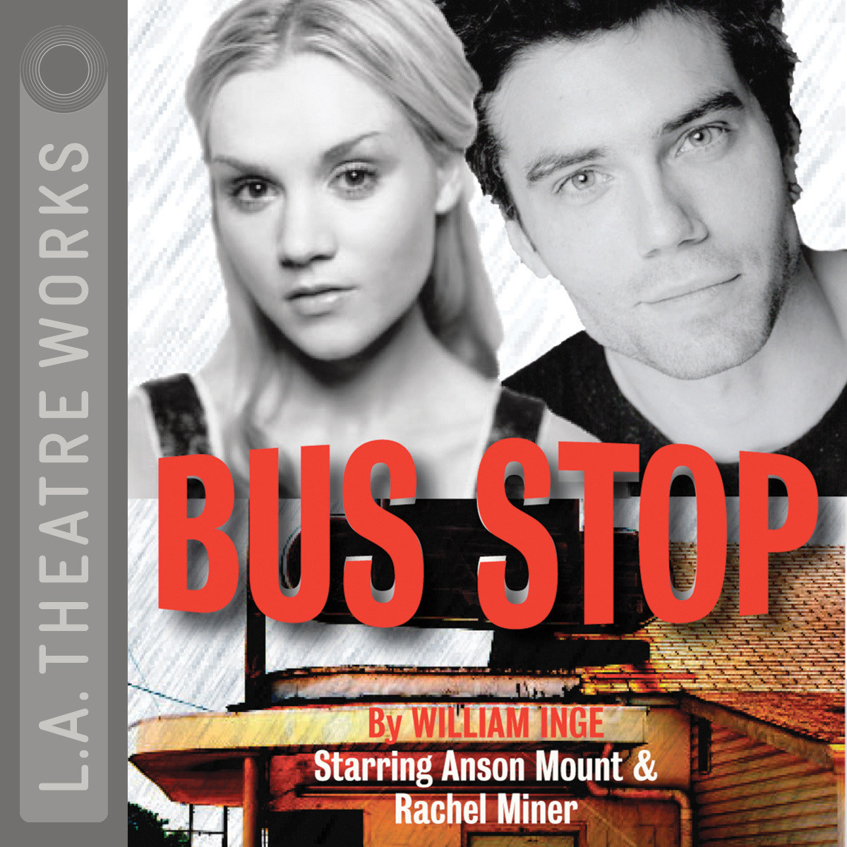 Printable Bus Stop Audiobook Cover Art