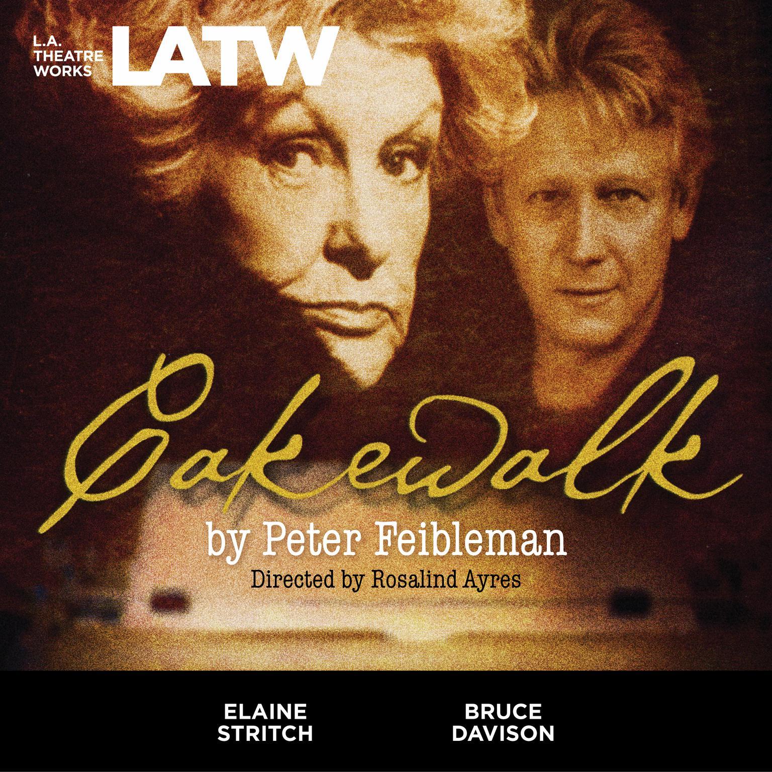 Printable Cakewalk Audiobook Cover Art