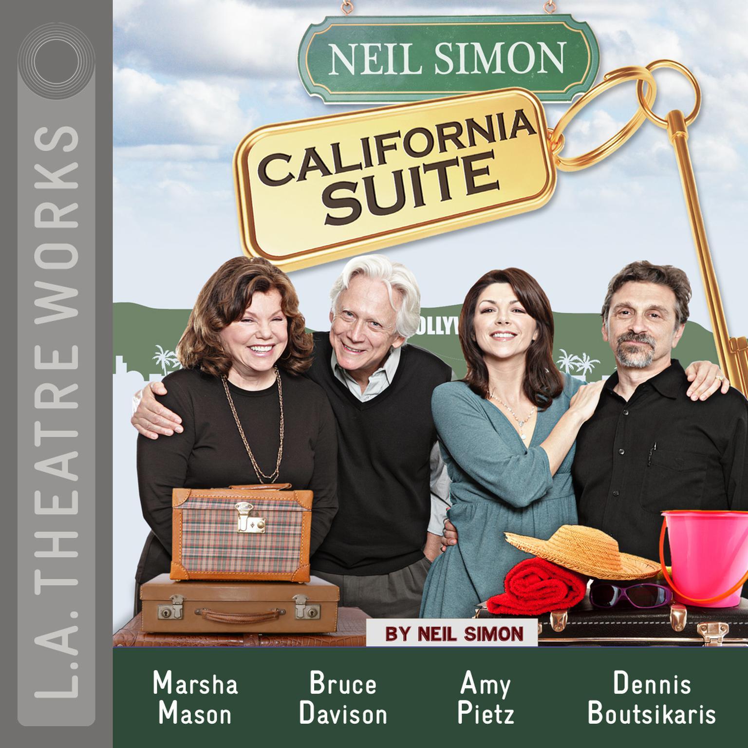 Printable California Suite Audiobook Cover Art