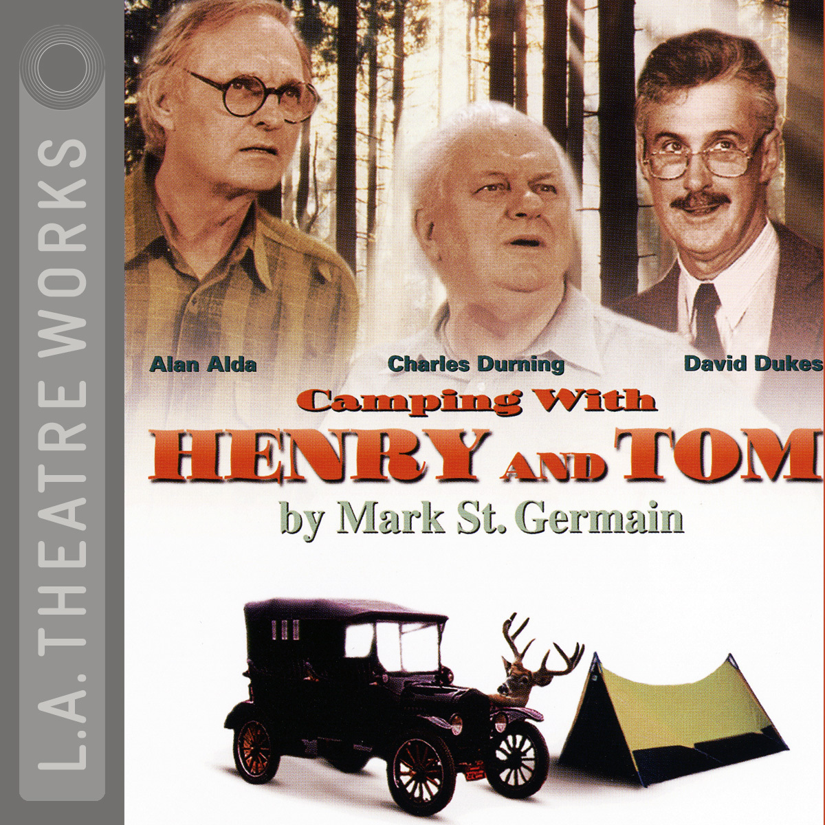 Printable Camping with Henry and Tom Audiobook Cover Art