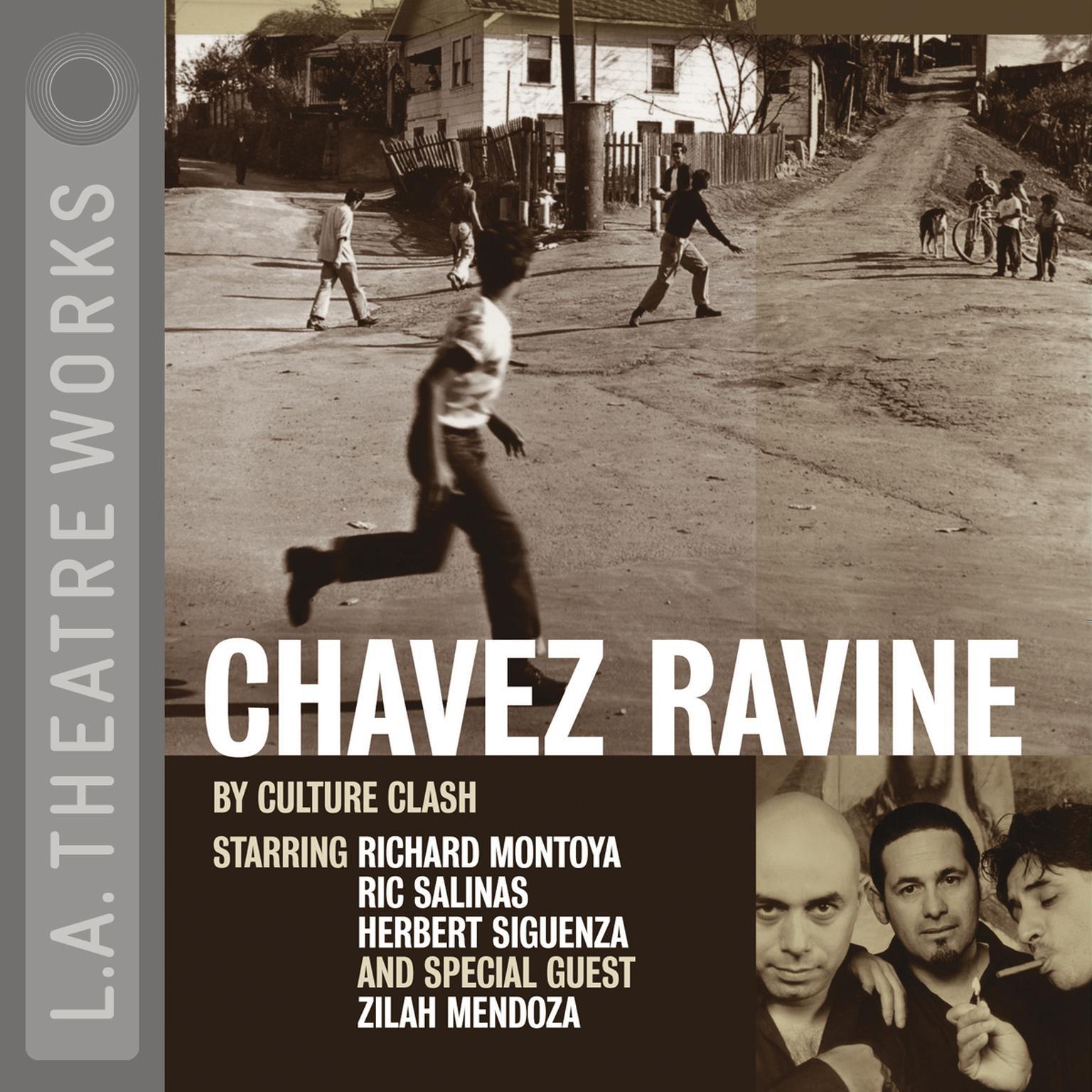 Printable Chavez Ravine Audiobook Cover Art