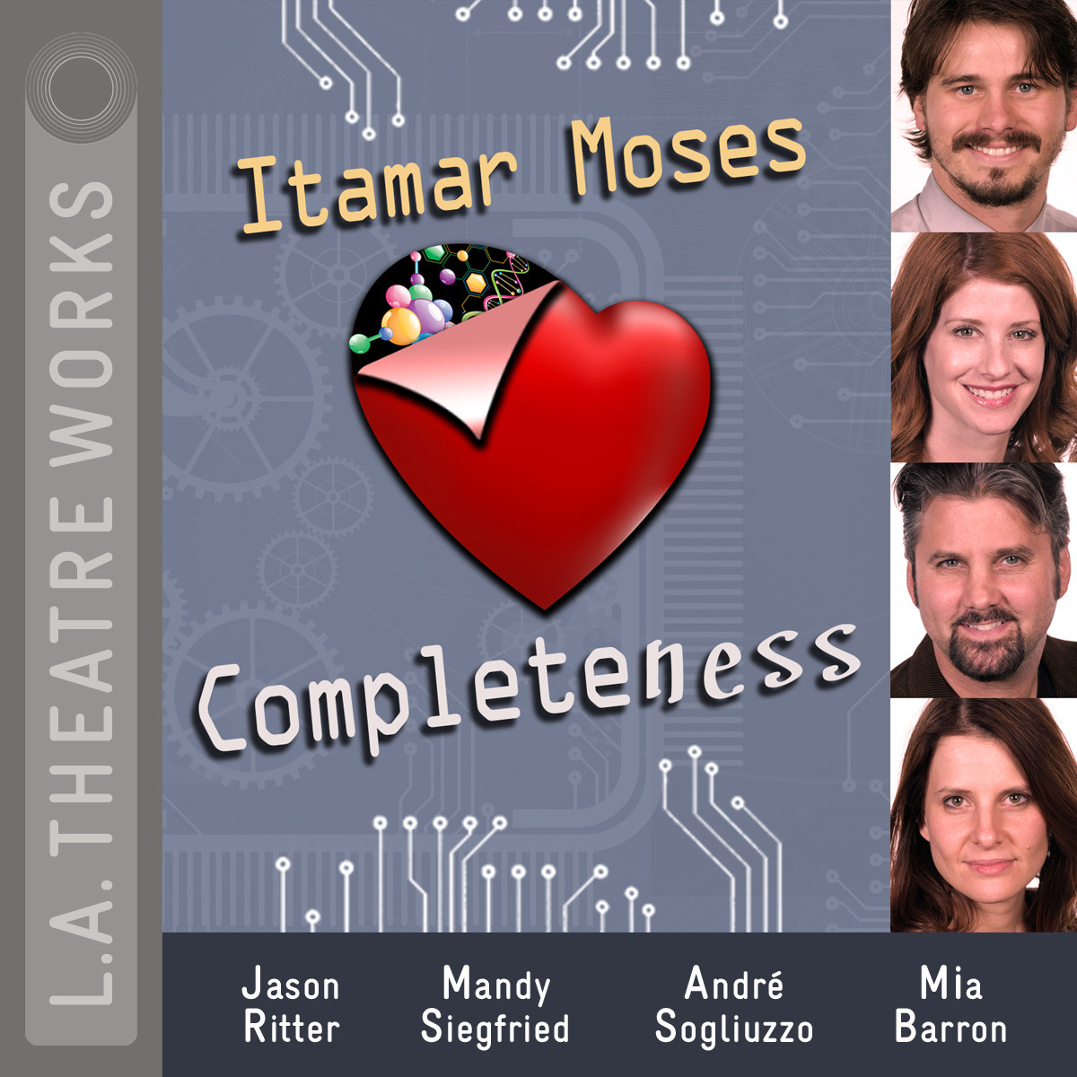 Printable Completeness Audiobook Cover Art