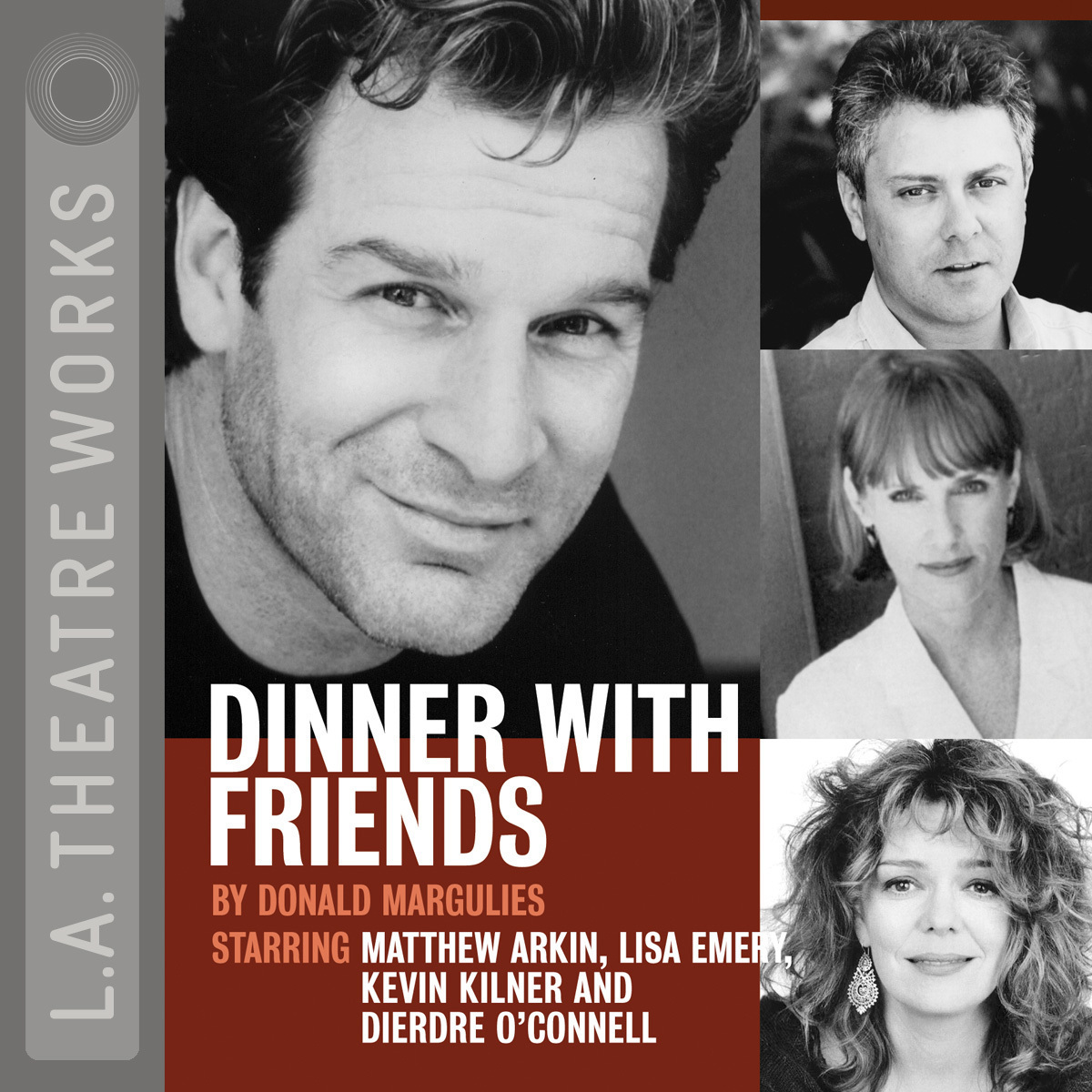 Printable Dinner with Friends Audiobook Cover Art