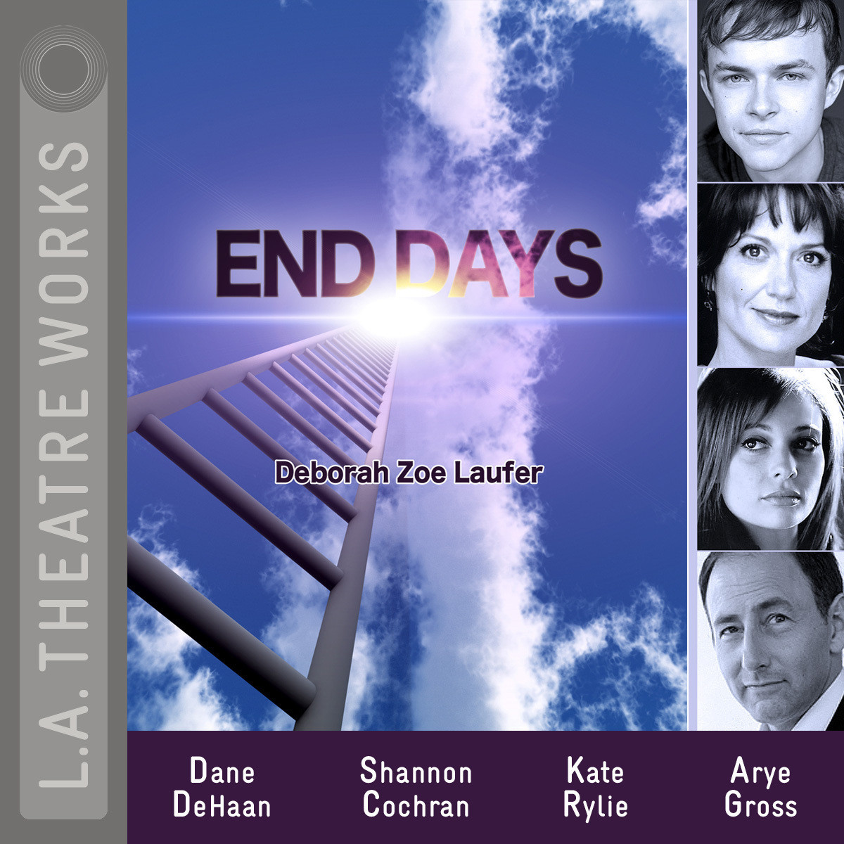 Printable End Days Audiobook Cover Art