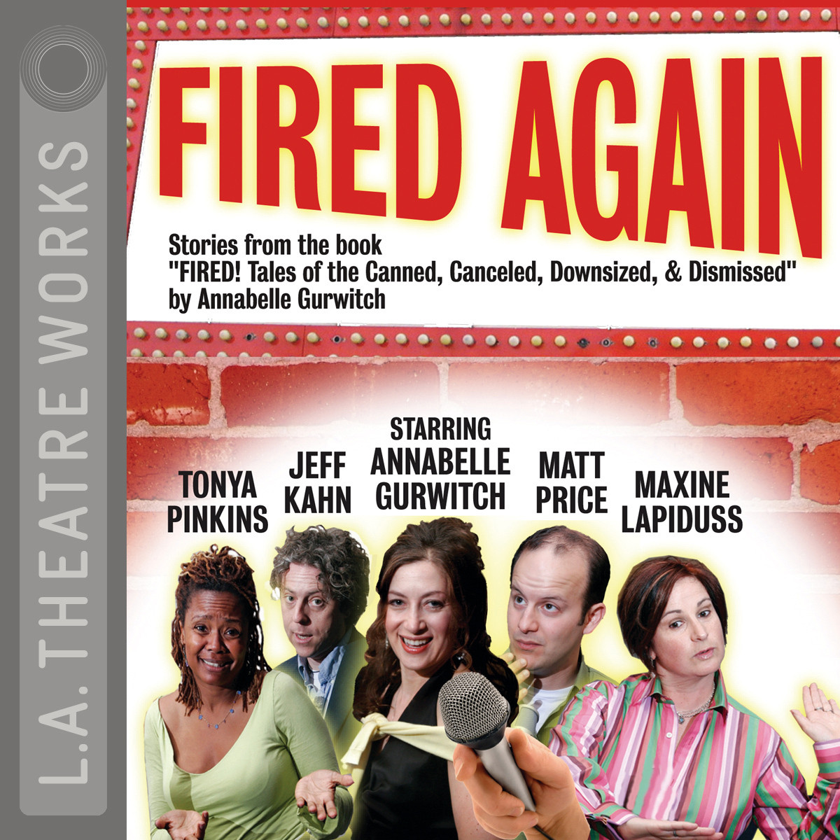 Printable Fired Again Audiobook Cover Art