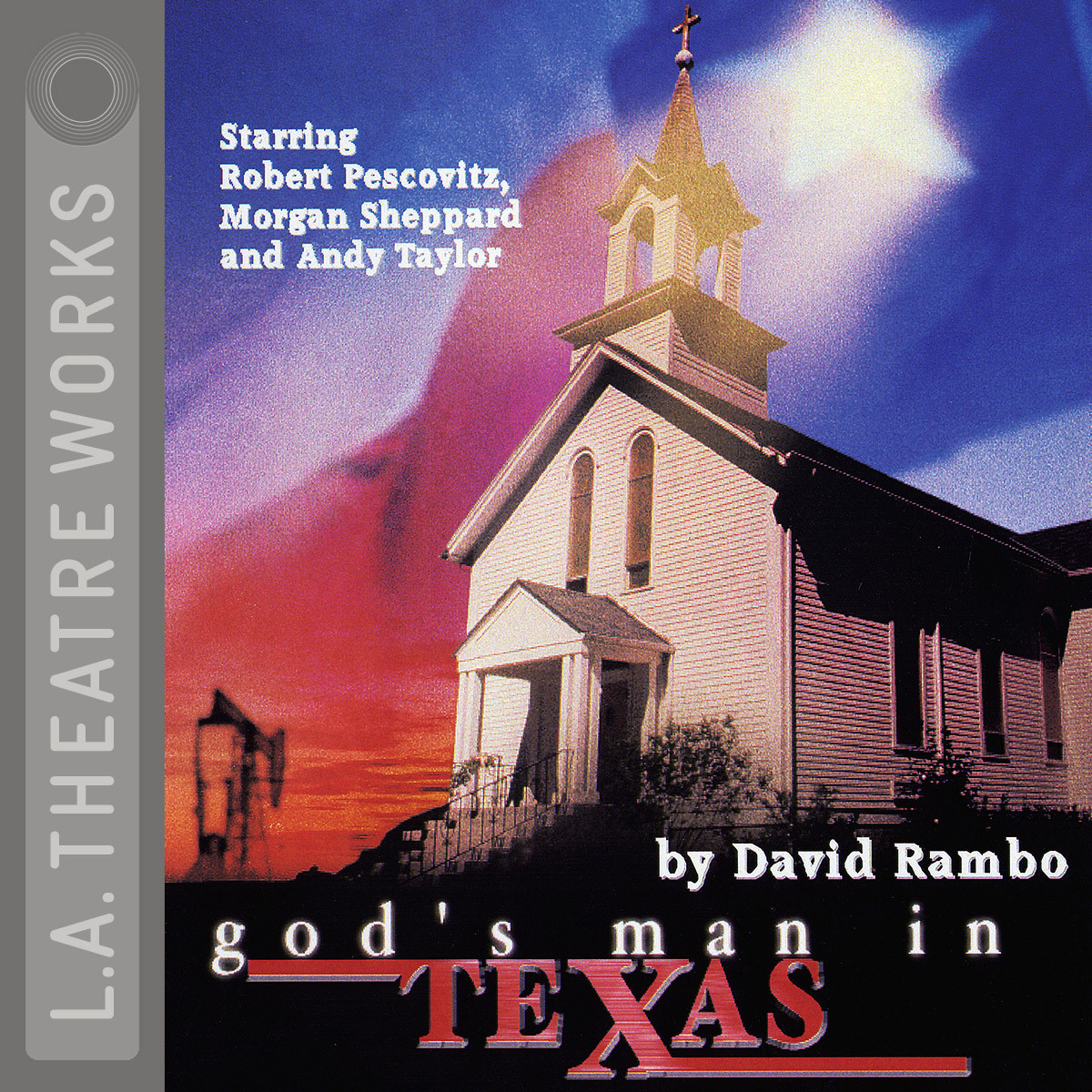 Printable God's Man in Texas Audiobook Cover Art