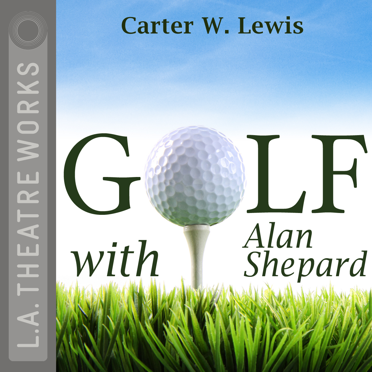 Printable Golf with Alan Shepard Audiobook Cover Art