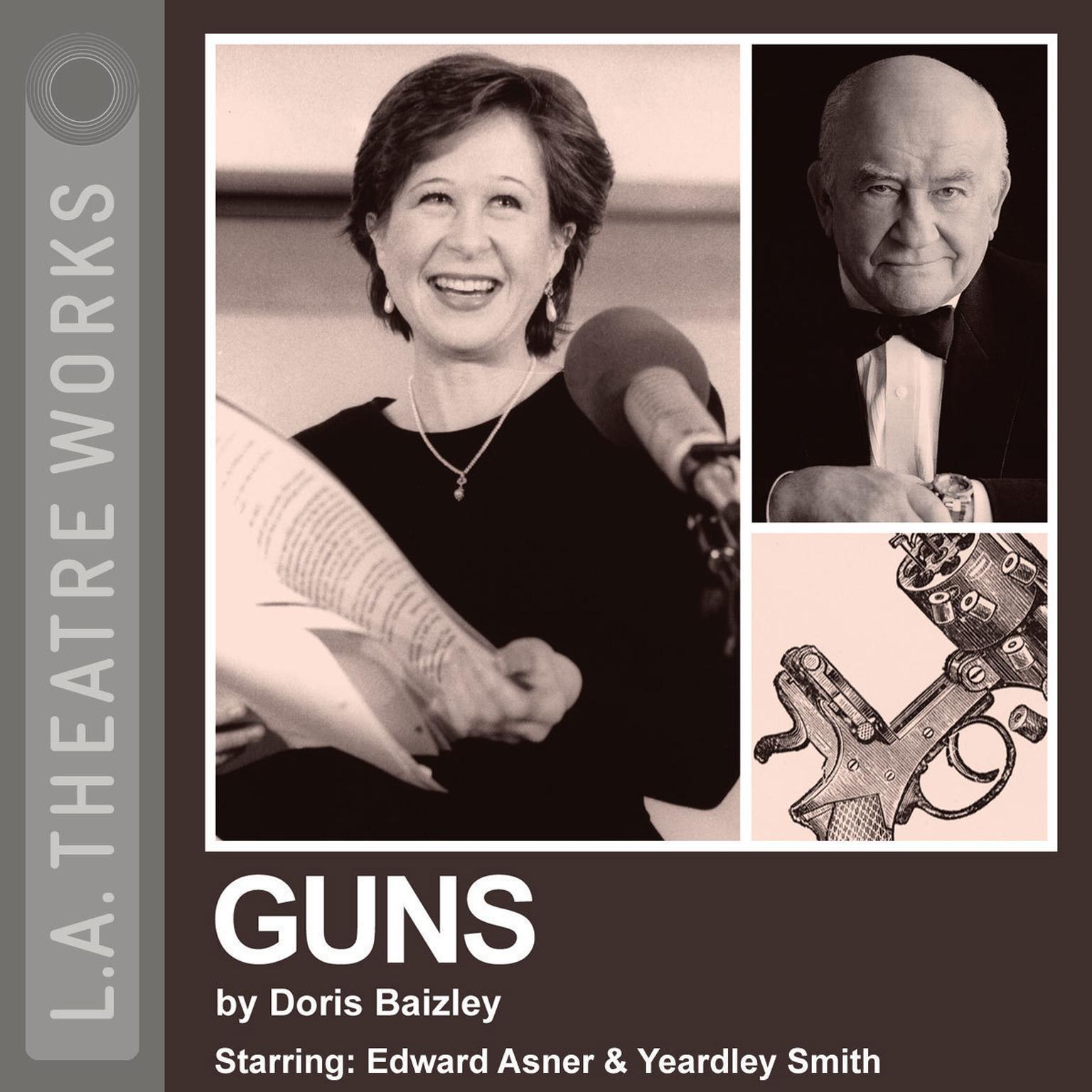 Printable Guns Audiobook Cover Art