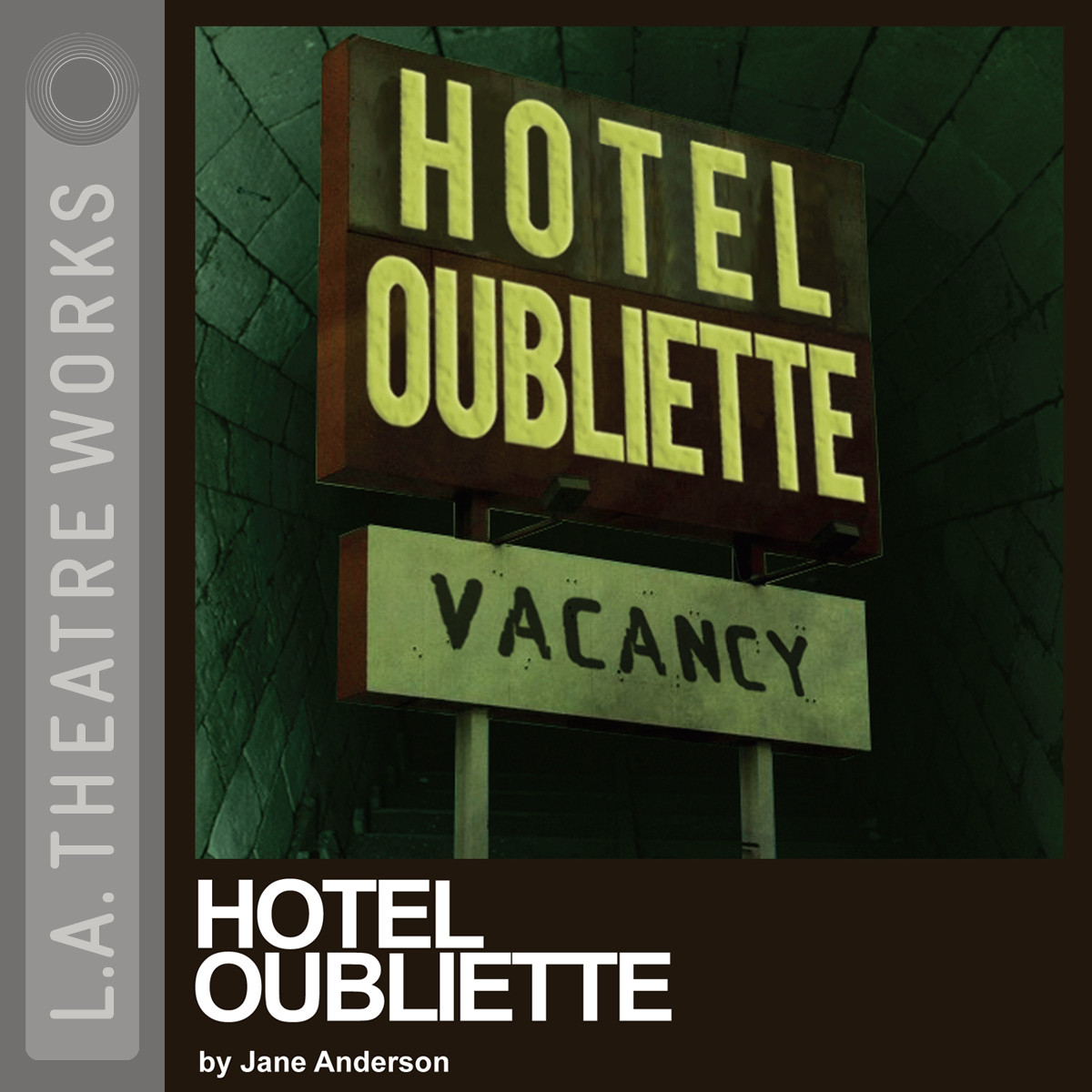 Printable Hotel Oubliette Audiobook Cover Art