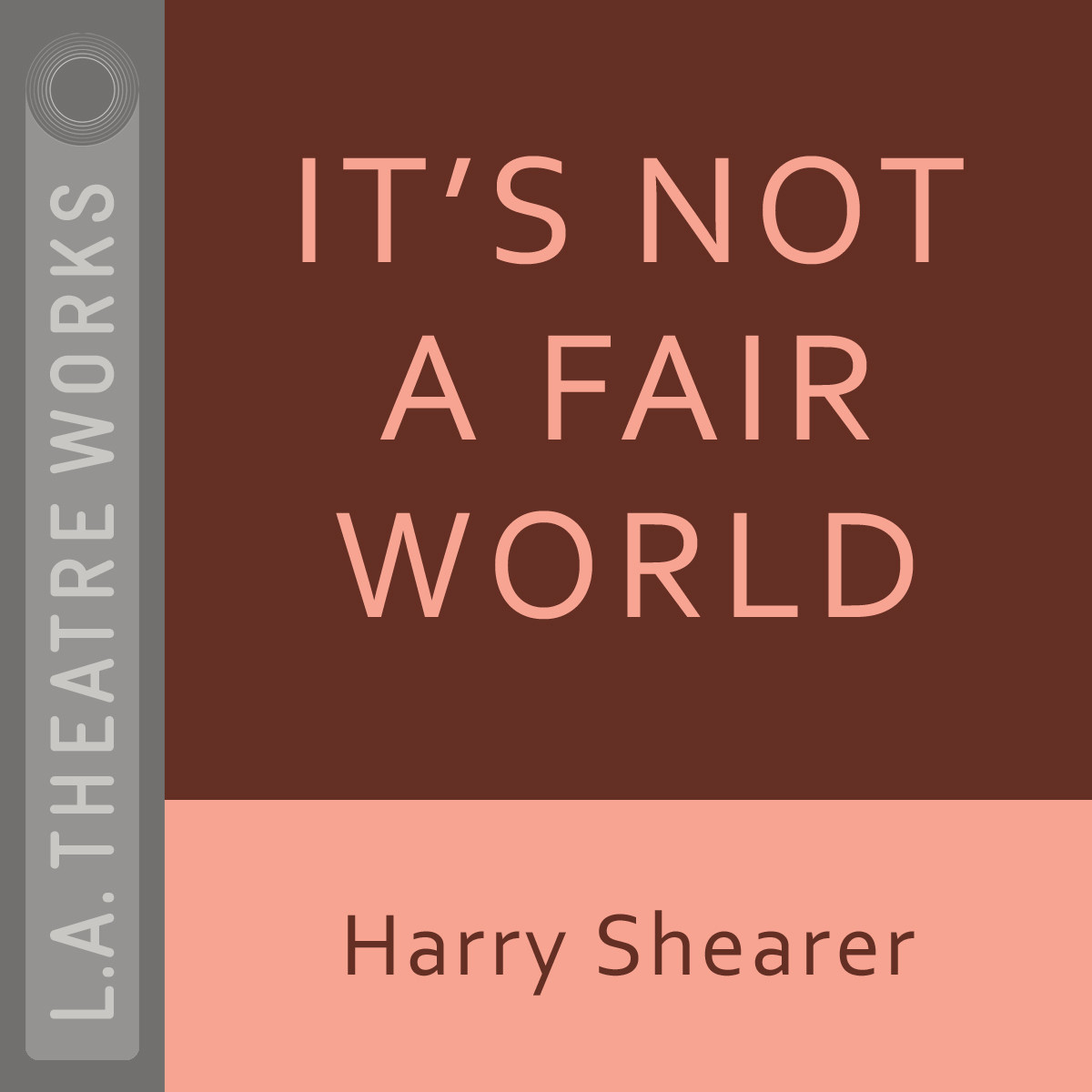 Printable It's Not a Fair World Audiobook Cover Art