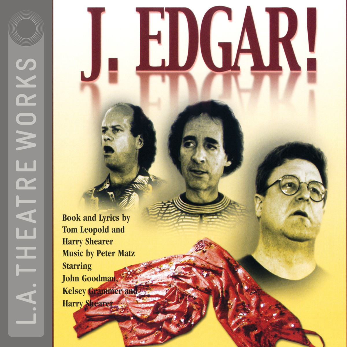 Printable J. Edgar! Audiobook Cover Art