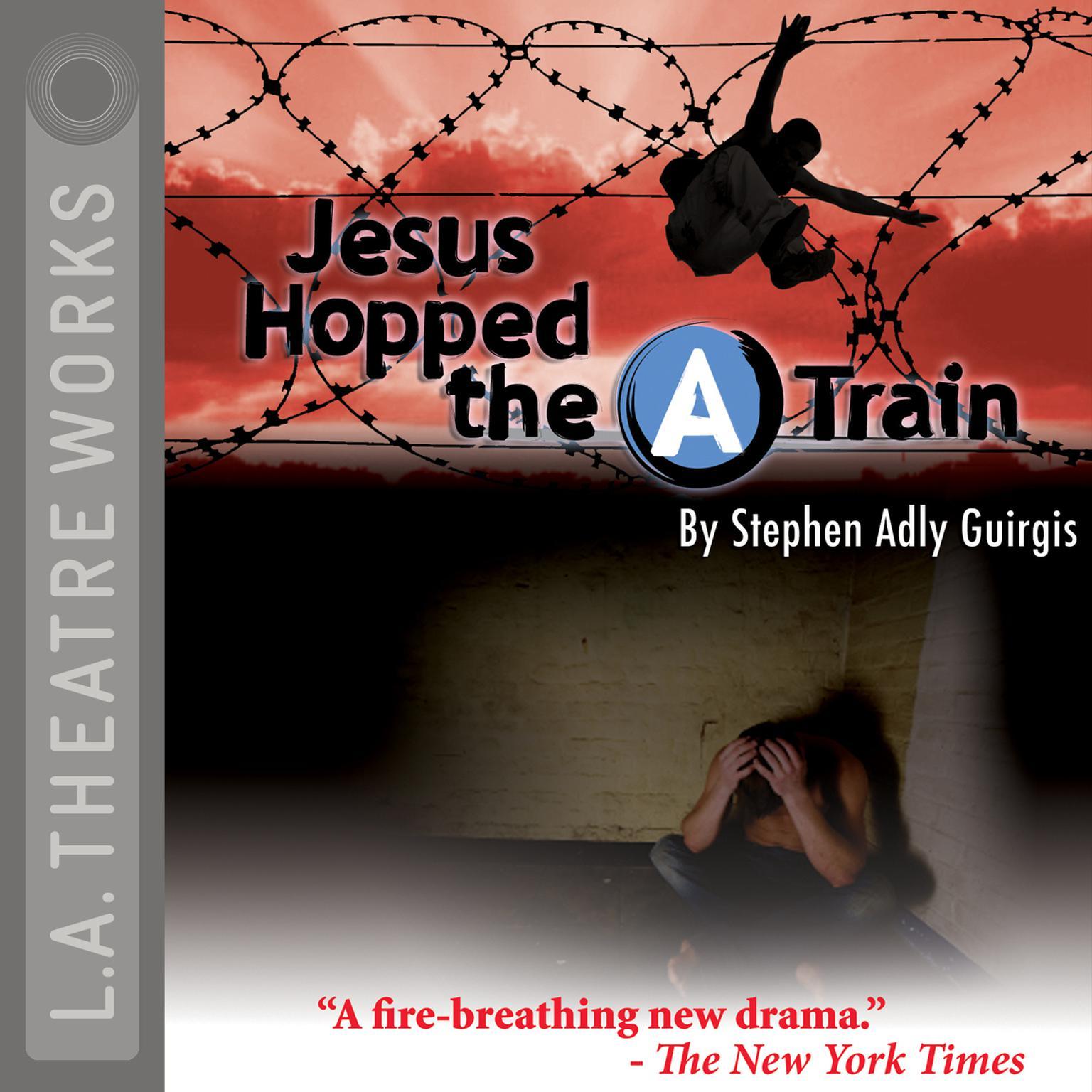 "Printable Jesus Hopped the ""A"" Train Audiobook Cover Art"