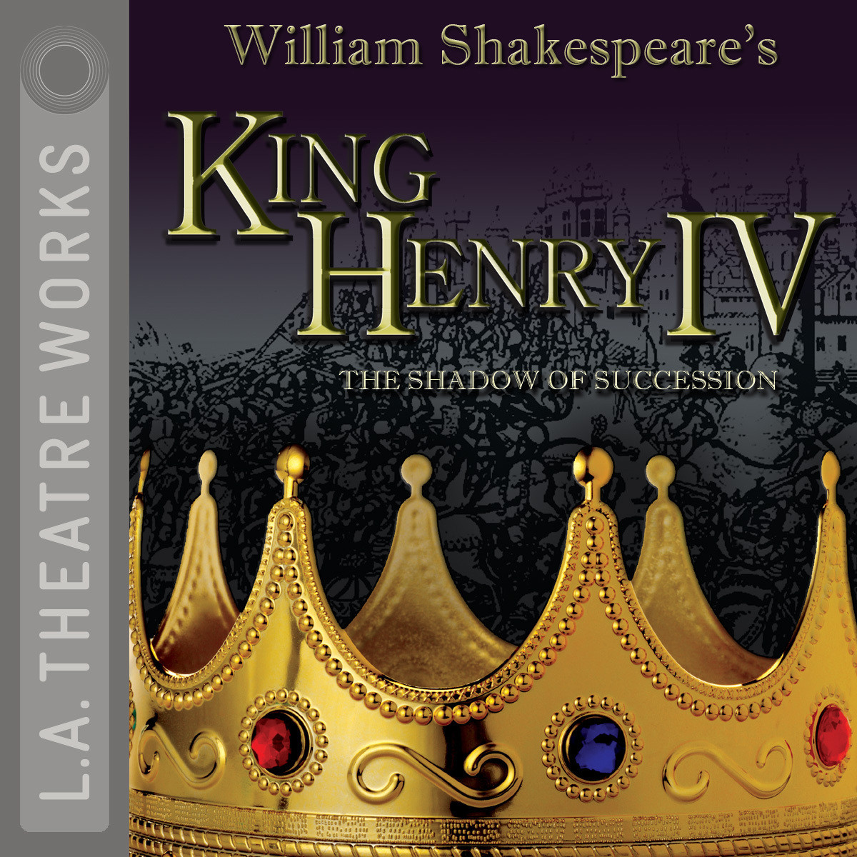Printable King Henry IV: The Shadow of Succession Audiobook Cover Art