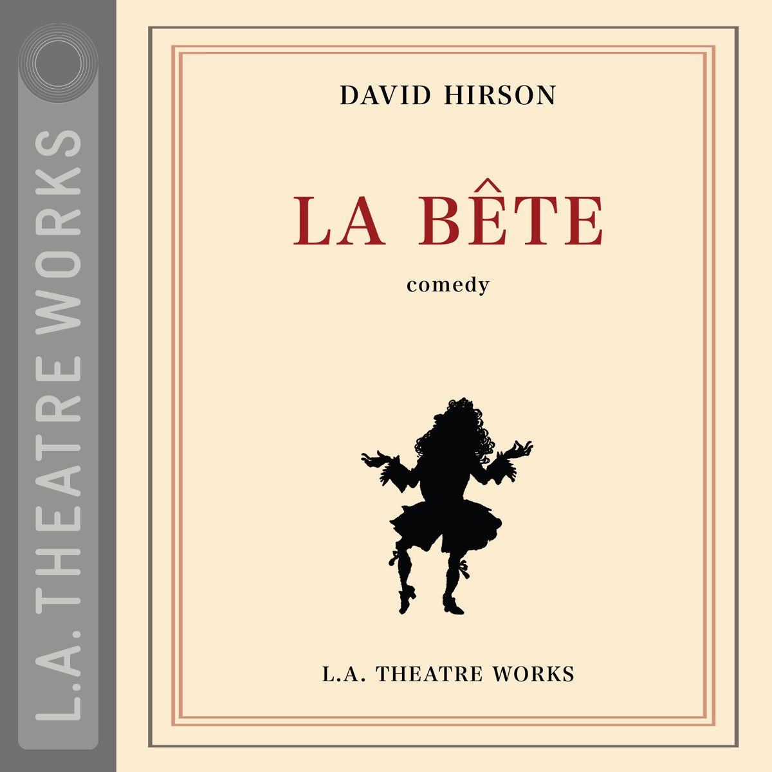 Printable La Bête Audiobook Cover Art