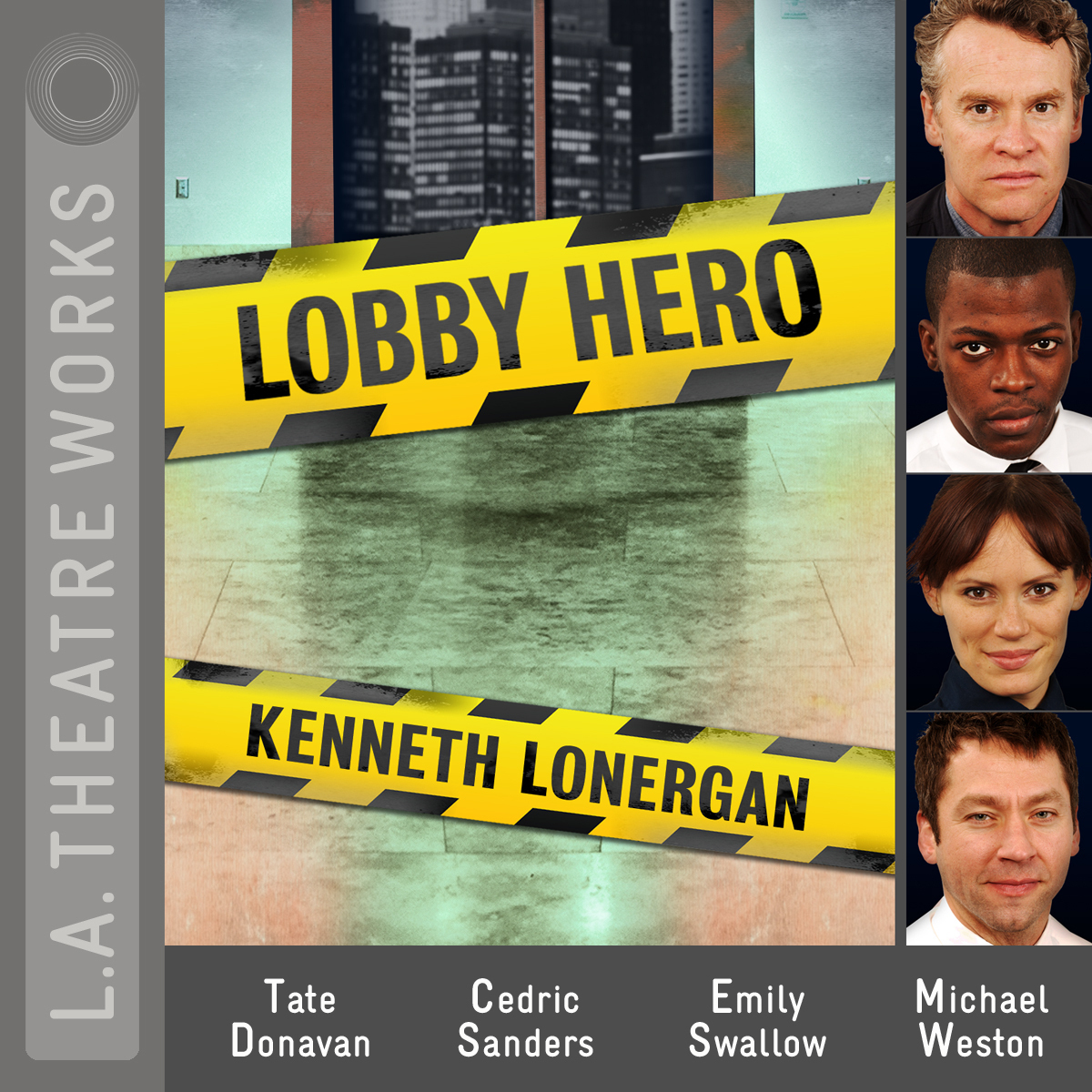 Printable Lobby Hero Audiobook Cover Art