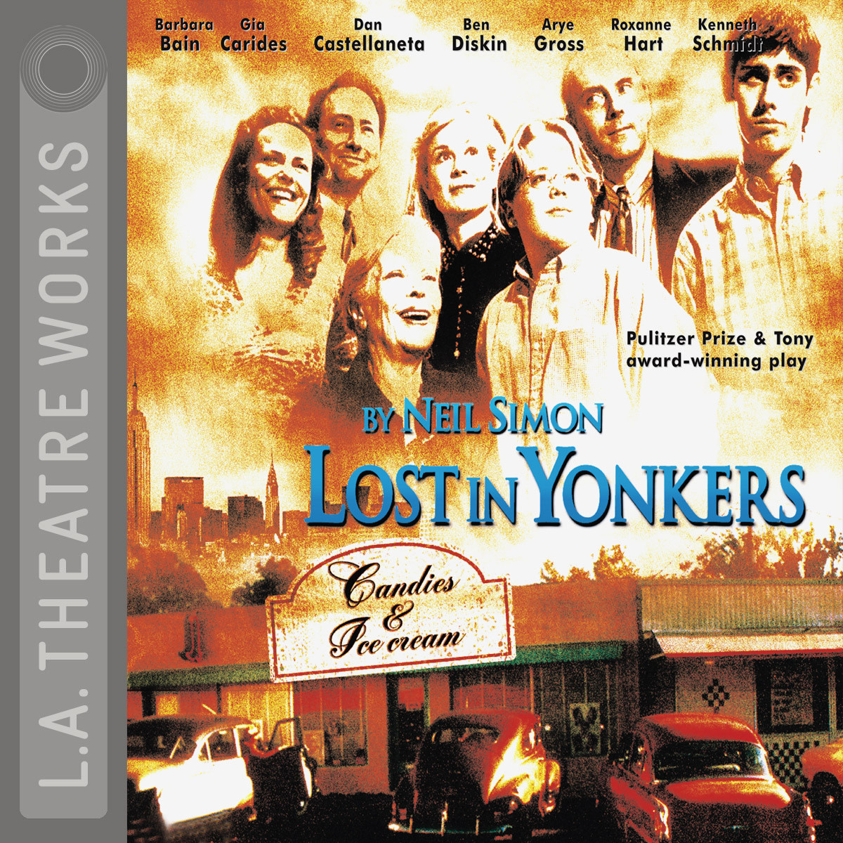 Printable Lost in Yonkers Audiobook Cover Art