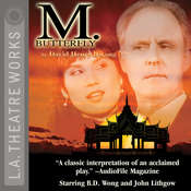 M. Butterfly Audiobook, by David Henry Hwang
