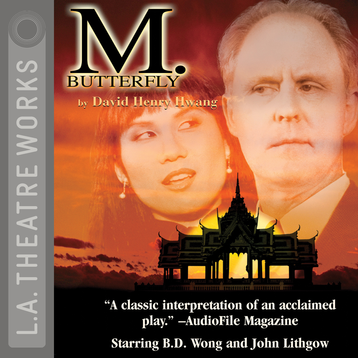 Printable M. Butterfly Audiobook Cover Art