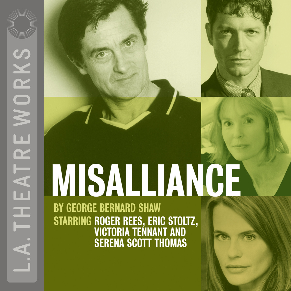 Printable Misalliance Audiobook Cover Art