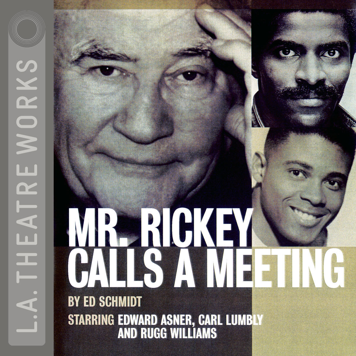 Printable Mr. Rickey Calls a Meeting Audiobook Cover Art