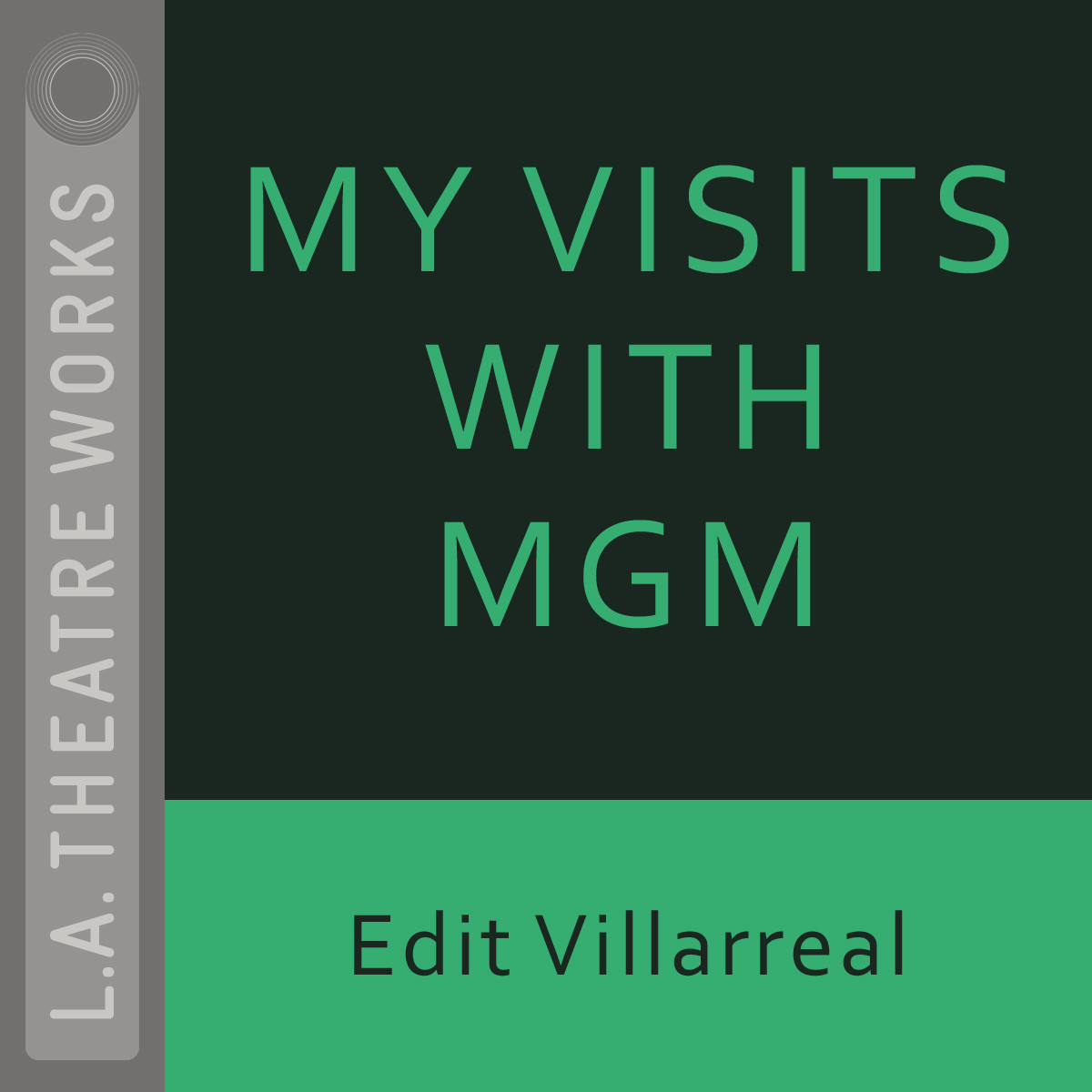 Printable My Visits with MGM Audiobook Cover Art