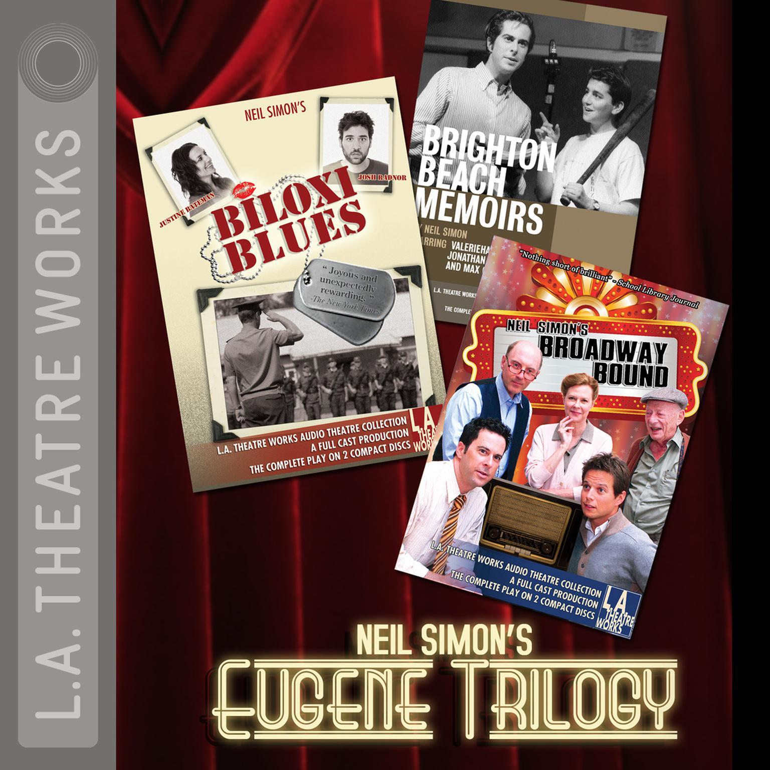 Printable Neil Simon's Eugene Trilogy Audiobook Cover Art