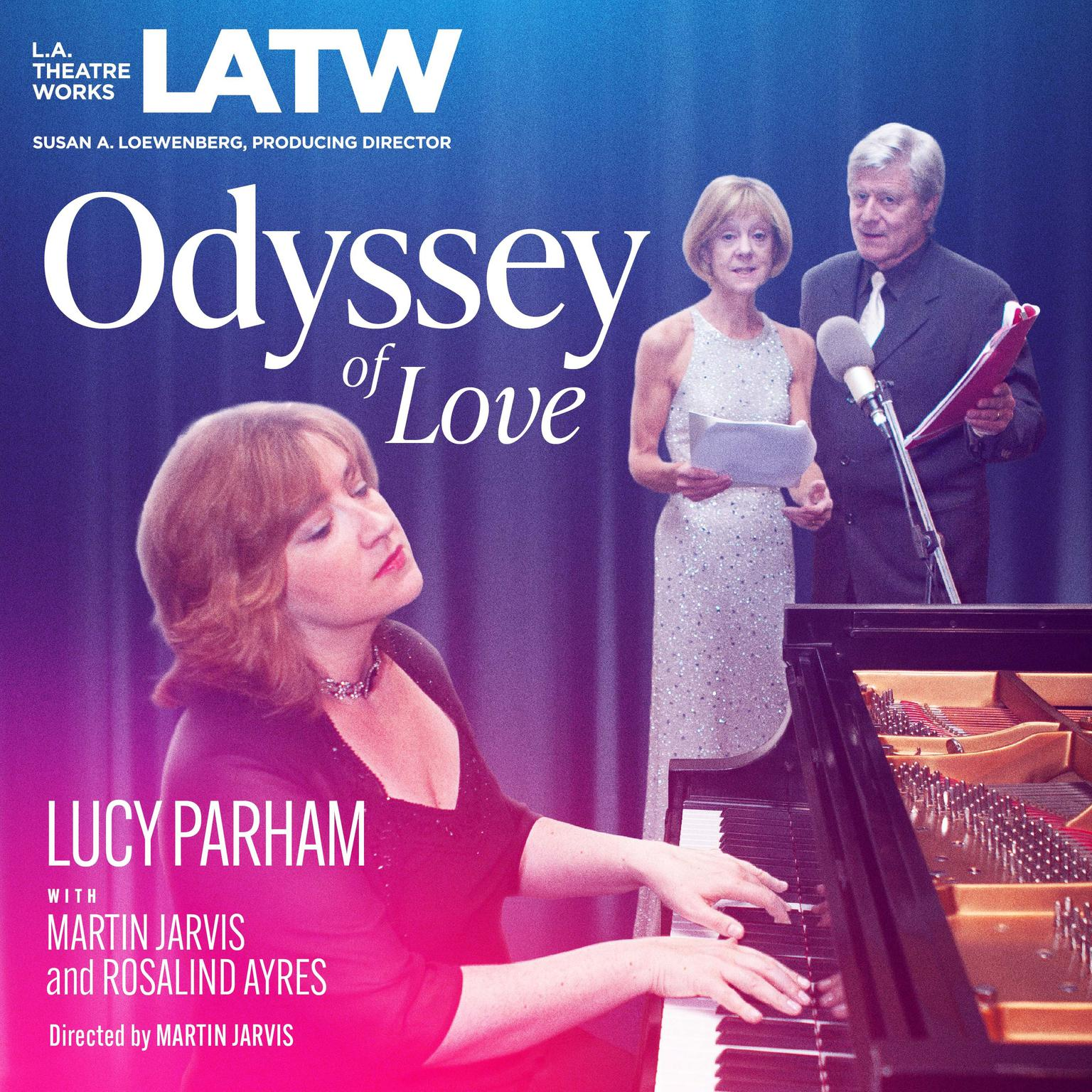 Printable Odyssey of Love Audiobook Cover Art