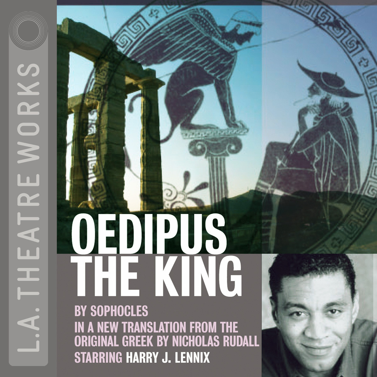 Printable Oedipus the King Audiobook Cover Art